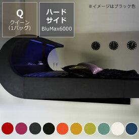 オーバーナイト ゼロ(スエード調)〔ウォーターベッドハードサイド〕クイーンサイズ(1バッグ)BluMax6000【ウォーターワールド/WATER WORLD】※代引き不可 ドリームベッド dream bed