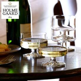 HOLMEGAARD(ホルムガード)スタブ シャンパン&デザートグラス 200ml 4個セット