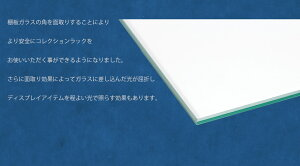 コレションケースLEDライト標準装備ガラス完成品コレクションボードフィギュアケース背面ミラー付き幅55cmエース2EX鍵付きコレクションボックスガラスケースディスプレ