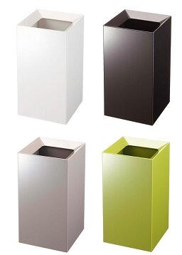 トラッシュカンヴェール(ゴミ箱おしゃれリビングシンプルホワイトブラウングリーングレー)PVSWL【ポイント10倍!】