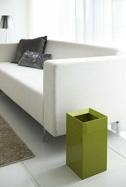 トラッシュカンヴェール(ゴミ箱おしゃれリビングシンプルホワイトブラウングリーングレー)PVSWL