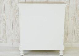 キャビネットアンティーク(白家具木製ホワイト扉付き収納アンティーク家具フレンチカントリー)(チェストサイドボード)