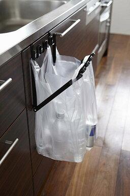 レジ袋ハンガータワー[ゴミ箱分別キッチンゴミ袋ホルダーゴミ袋スタンドレジ袋ホルダー]PVSWKPVSBK