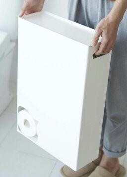 トイレットペーパーストッカープレート[トイレットペーパー収納ケーススタンドボックス12ロール]PVSBW