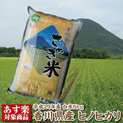 【29年産】香川県産ヒノヒカリ白米5kg【ひのひかり】【あす楽対応】