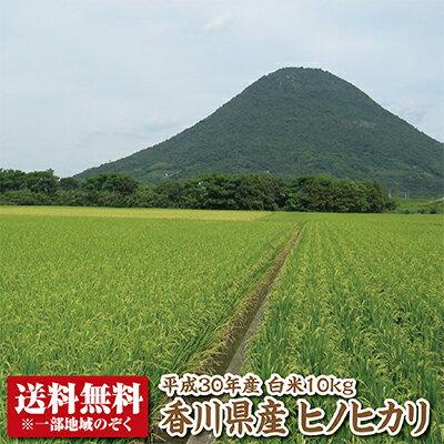 【30年産】【送料無料】香川県産ヒノヒカリ白米10kg【ひのひかり】
