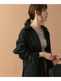 [Rakuten Fashion]コットンバルマカンコート かぐれ カグレ コート/ジャケット ステンカラーコート ブラック ベージュ【送料無料】