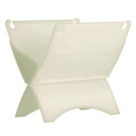 kcud 生ゴミ水切り器 ホワイト KUDGDS tou-iwt-4980356300060 ダイニング用商品 水切り/洗い桶/三角 お洒落 オシャレ おしゃれ 人気 おすすめ