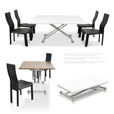 リフティングテーブルリフティング昇降式テーブルBAN-B2014-90type伸縮テーブル昇降テーブル変形タイプ(ダイニングテーブル、リビングテーブル兼用ガス圧式)