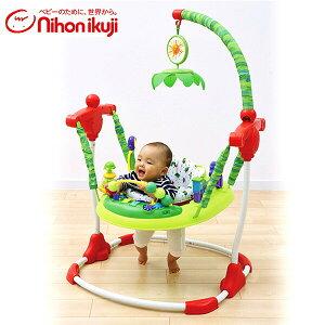 日本育児 はらぺこあおむし アクティビティジャンパー 6360003001 歩行器 トレーニング ベビー 赤ちゃん ベビーウォーカー キャラクター 【送料無料】