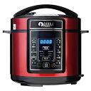 優文 多機能電気圧力鍋 (5L) クックピース(COOK PEACE) MX-1801R 電気圧力鍋 圧力鍋 鍋 料理 炊飯器 電気なべ 電気鍋 …