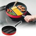 アーネスト センターエッグパン(ガスコンロ専用) 24cm A-77052/A-77053 卵焼き たまご焼き 朝食 弁当 卵 フライパン 【送料無料】