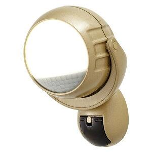 大進(ダイシン) らくらくセンサーライト/LED 1灯/電池式/屋内外吸盤/マグネット取り付けタイプ DLB-600B ゴールド センサーライト 人感センサー 玄関 照明 防犯ライト セキュリティライト 屋外