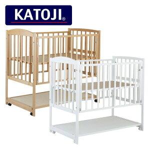 カトージ(KATOJI) ハイタイプベッド ツーオープン (日本製) 02703/02704 正規品 ベビー 赤ちゃん ベッド 収納棚 ミニ 小さい コンパクト ハイタイプ おしゃれ 【送料無料】