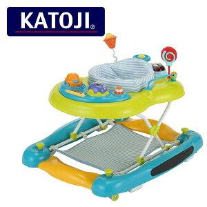 2WAYウォーカー スピンシート ブルーボーダー 28900 ベビー 赤ちゃん 椅子 いす イス チェア ベビーチェア ベビー用チェア ローチェア ベビーウォーカー カトージ(KATOJI) 【送料無料】