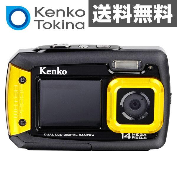 ケンコー(KENKO) 防水カメラ 1400万画素 (耐ショック/防水/防塵) DSCPRO14 水中カメラ 乾電池 デジカメ デジタルカメラ デジタル防水カメラ コンパクト 防水カメラ 【送料無料】