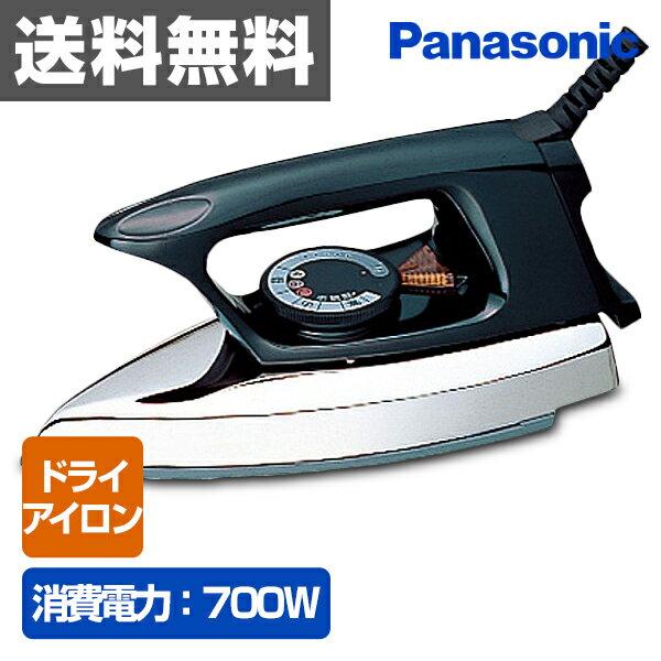 パナソニック(Panasonic) 自動アイロン(ドライアイロン) NI-A66-K ブラック 【送料無料】