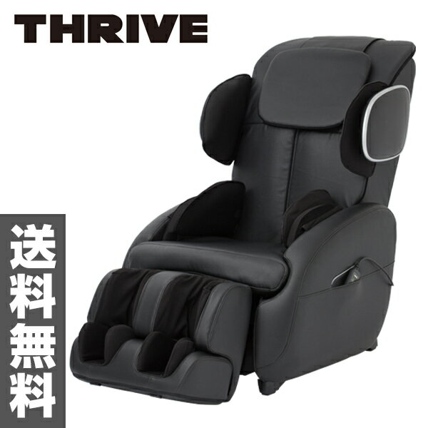 Thrive (THRIVE) Relaxation Massage Chair Designated Seat CHD 5506 (K) Black  Massage Equipment Massage Machine Chair Type Airbag