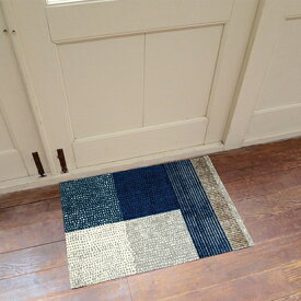 玄関マット 屋外 室内 屋内 洗える 薄型 玄関マット かわいい 丸洗い 玄関マット ウォッシャブル エントランスマットIAA-6874(ウォッシュアンドドライ)Lanas 50×75cm