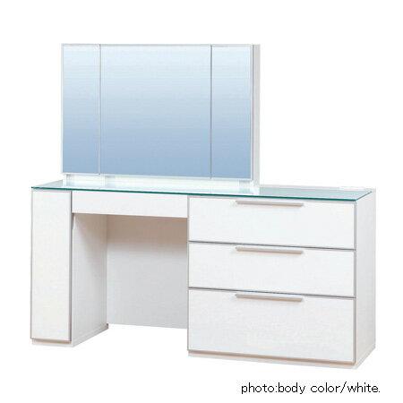 テーブル デスク コンパクト ロータイプ 姫系 ワゴン 可愛い ライト 白 アンティーク ミニ実売価格はさらにお安く【卸】価格はお問い合わせ下さい。松永家具 (matsunaga) piatto ピアット ドレッサー150 三面鏡 さんめんきょう (卸)
