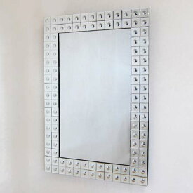ウォールミラー 壁掛け鏡 全面ミラー仕様 鏡面 姫系インテリア プリンセスアイテム  渡辺美奈代愛用