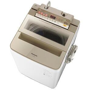 ★【240】NA-FA80H6-N パナソニック Panasonic 8.0kg 全自動洗濯機 シャンパン【楽天あんしん延長保証加入可能】【kk9n0d18p】