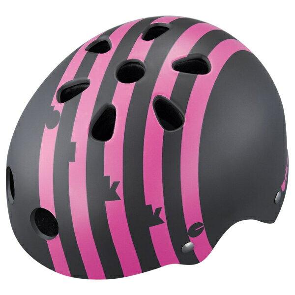 【〜10.0kg】bikke キッズヘルメット ボーダー(ピンク) CHBH4652-PGR P5788 ブリヂストン お取り寄せ