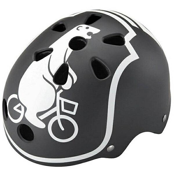 【〜10.0kg】bikke ジュニアヘルメット モブ(ダークグレー) CHBH5157-DG P5795 ブリヂストン お取り寄せ