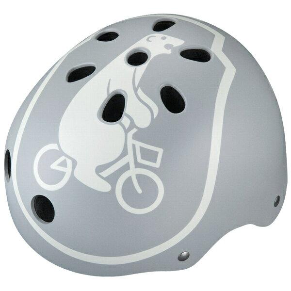 【〜10.0kg】bikke ジュニアヘルメット ブルーグレー CHBH5157-LB P5794 ブリヂストン お取り寄せ