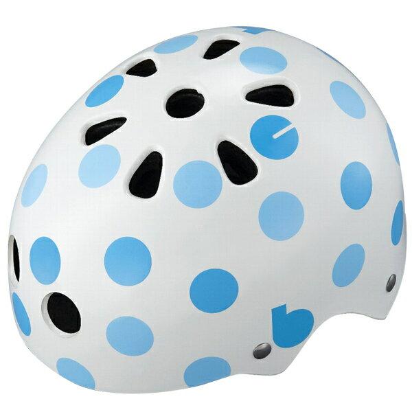 【〜10.0kg】bikke ジュニアヘルメット ドット(ブルー) CHBH5157-WB1 P5791 ブリヂストン お取り寄せ
