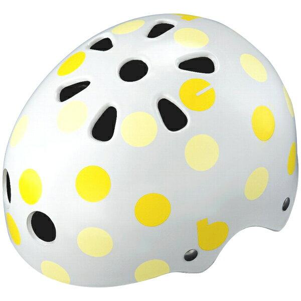 【〜10.0kg】bikke ジュニアヘルメット ドット(イエロー) CHBH5157-WY1 P5793 ブリヂストン お取り寄せ