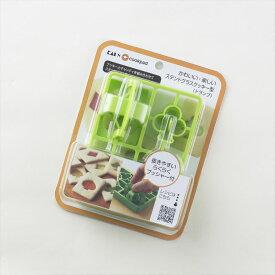 【 貝印 】 かわいい・楽しい・ステンドグラスクッキー型(トランプ) DL8038 【nlife_d19】