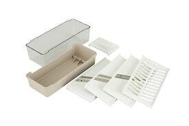 KaiHouse SELECT 調理器セット(千切、ツマ切、スライス、おろし)スライサーセット 調理器具セット 千切り 野菜 おろし器 千切り器 スライサー コンパクト 送料無料 ギフト プレゼント