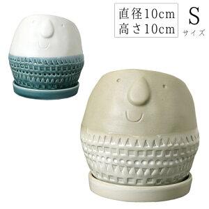 直径10cm 高さ10cm 全2色 Maske ラウンドプランター Sサイズ ナチュラル 園芸 ガーデニング プランター フラワー ポット 鉢 スパイス FTGK2911