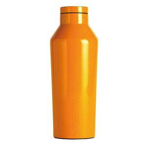 ステンレスボトル 270ml 直飲み 保冷ボトル 保温ボトル CORKCICLE DIPPED CANTEEN Clementine 9oz 270ml オレンジ 保冷 保温 ボトル 水筒 通勤 通学 レジャー アウトドア おしゃれ プレゼント ギフト CORKCICLE 2