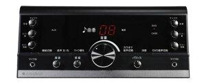 DVDカラオケシステムテレビに接続DVDで歌ってテープに録音ができるワイヤレスマイク2本付きANABAS太知ホールディングスDVD-K110