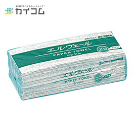 エルヴェールペーパータオルエコドライ小判(シングル)サイズ : 210×170mm入数 : 42単価 : 100円(税抜)
