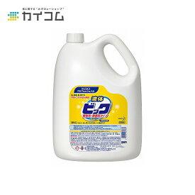 液体ビック 無蛍光・無香料タイプ 4.5Kg 業務用 洗濯洗剤 サイズ : 4.5kg 入数 : 1