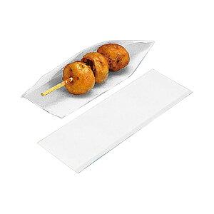 ドックスリーブ 白 ホットドック ホットドッグ 容器 フランクフルト 業務用 袋 ホットドックサイズ : 80(75)×225mm入数 : 4000単価 : 3.5円(税抜) チーズハットグ チーズハッドグ チーズドッ