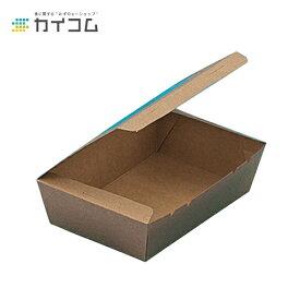 窓付きランチボックス(S) クラフトサイズ : 150×100×45mm入数 : 200単価 : 30円(税抜)ランチボックス ランチBOX ランチケース 弁当箱 使い捨て 業務用 テイクアウト デリバリー おしゃれ レジャー 紙