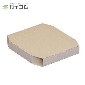 お試し サンプル無料出荷 テイクアウト用ピザ箱 12インチピザボックス(クラフト)サイズ : 325×325×45mm入数 : 100単価 : 60.00円(税抜)店舗用 業務用 お持ち帰り用 出前 デリバリー ピザケース ピザBOX