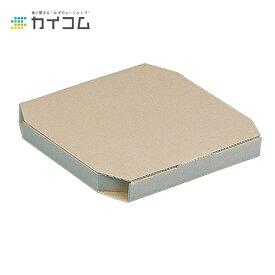 テイクアウト用ピザ箱 14インチピザボックス(クラフト)サイズ : 362×362×38mm入数 : 100単価 : 90円(税抜)店舗用 業務用 お持ち帰り用 出前 デリバリー ピザケース ピザBOX