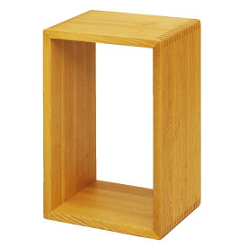 木製 おしゃれ ラック リヨン ボックス 中 ライト色