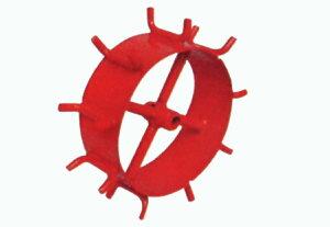 ホンダ 一輪管理機FR716JS用 M型スパイク車輪(幅広) No10951【耕耘機 耕運機 耕うん機 アタッチメント 管理機 作業機 タイヤ】【おしゃれ おすすめ】 [CB99]