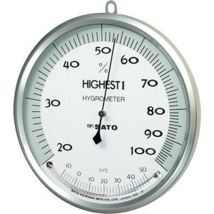 【ポイント10倍】佐藤 温湿度計 ハイエスト1型 7540-00 【DIY 工具 TRUSCO トラスコ 】【おしゃれ おすすめ】[CB99]