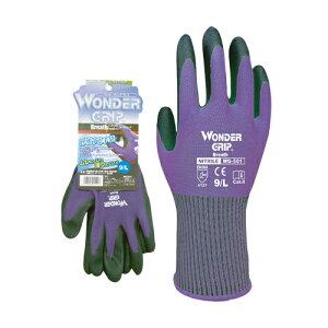 ユニワールド 手袋 WG ブレス パープル Lサイズ WG501 [カラー:パープル] [サイズ:L] 【手袋 ガーデニング 庭 グローブ 農作業 園芸用 ガーデニング ガーデン ツール 用品 家庭菜園】【おしゃれ