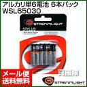 ストリームライト 交換 アルカリ単6電池 6本パック WSL65030 【AAAA E96 LR61 単6形乾電池 単6 電池 単六形電池 単6型…