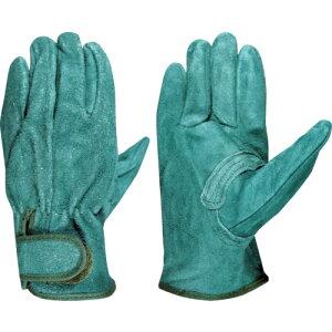 【ポイント10倍】富士グローブ 牛床革手袋 EX-380 グリーン M 5364 【DIY 工具 TRUSCO トラスコ 】【おしゃれ おすすめ】[CB99]