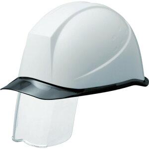 【ポイント10倍】ミドリ安全 PC製ヘルメット スライダー面付 透明バイザー SC-11PCLSRA-KP-W/S 【DIY 工具 TRUSCO トラスコ 】【おしゃれ おすすめ】[CB99]