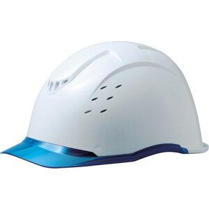 【ポイント10倍】ミドリ安全 PC製ヘルメット 高通気タイプ 透明バイザー SC-13PCLVRA-KP-W/BL 【DIY 工具 TRUSCO トラスコ 】【おしゃれ おすすめ】[CB99]